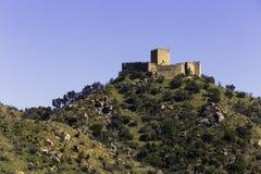 Castillo de Belver imagen de archivo