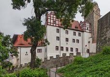 Castillo de Bernburg Imagen de archivo