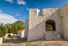 Castillo de Besac foto de archivo