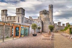 Castillo de Blackrock que sorprende en corcho imagen de archivo libre de regalías