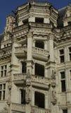 Castillo de Blois, escalera del renacimiento imagen de archivo