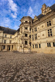 Castillo de Blois, Loire Valley, Francia imagenes de archivo
