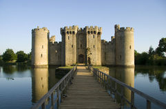 Castillo de Bodiam Fotografía de archivo