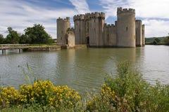 Castillo de Bodiam imagenes de archivo
