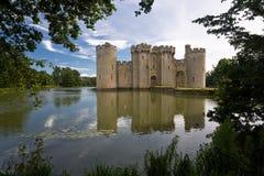 Castillo de Bodiam imagen de archivo libre de regalías