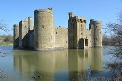 Castillo de Bodiam Fotografía de archivo libre de regalías