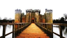 Castillo de Bodiam - Inglaterra Fotografía de archivo