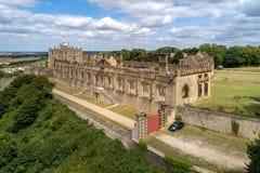 Castillo de Bolsover en Nottinghamshire, Reino Unido imagen de archivo