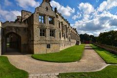 Castillo de Bolsover en Reino Unido Imagen de archivo