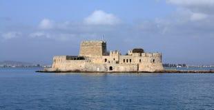 Castillo de Bourtzi Fotos de archivo libres de regalías