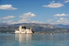 Castillo de Bourtzi Foto de archivo