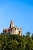 Castillo de Bouzov Fotografía de archivo libre de regalías