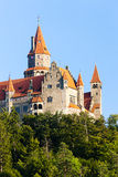 Castillo de Bouzov Imagen de archivo libre de regalías