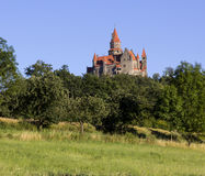 Castillo de Bouzov imagen de archivo