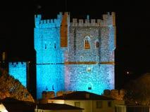 Castillo de Bragança Foto de archivo libre de regalías