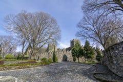 Castillo de Braganca Portugal imagenes de archivo