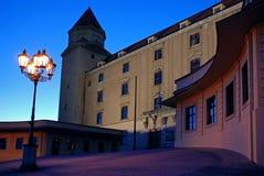 Castillo de Bratislava Imagen de archivo libre de regalías