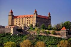 Castillo de Bratislava Fotos de archivo