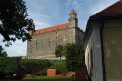 Castillo de Bratislava Imagenes de archivo