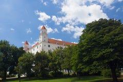 Castillo de Bratislava, Eslovaquia Imagenes de archivo