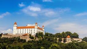 Castillo de Bratislava, Eslovaquia fotos de archivo