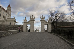 Castillo de Bratislava, Eslovaquia, Europa Fotografía de archivo libre de regalías