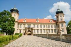 Castillo de Brdy de la vaina de Mnisek Foto de archivo libre de regalías