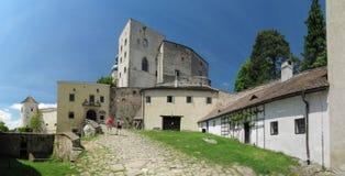 Castillo de Buchlov Fotografía de archivo