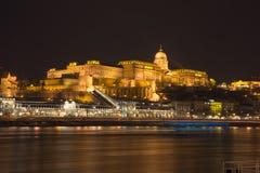 Castillo de Buda Fotos de archivo libres de regalías
