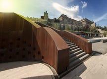 Castillo de Budapest Imágenes de archivo libres de regalías