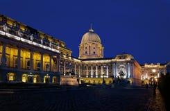 Castillo de Budapest Imagen de archivo libre de regalías