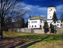 Castillo de Budatin Imágenes de archivo libres de regalías
