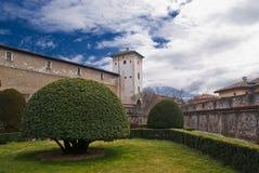 Castillo de Buonconsiglio, Trento Imagen de archivo libre de regalías