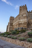 Castillo de Burgalimar foto de archivo libre de regalías