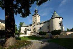 Castillo de Bytca, Eslovaquia Fotos de archivo