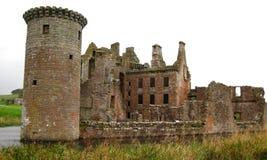 Castillo de Caerlaverock Imágenes de archivo libres de regalías