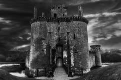 Castillo de Caerlaverock imagen de archivo libre de regalías