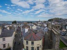 Castillo de Caernarfon, País de Gales del norte Foto de archivo libre de regalías