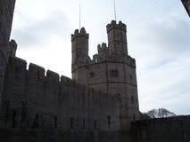 Castillo de Caernerfon imagen de archivo