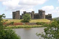 Castillo de Caerphilly fotografía de archivo libre de regalías