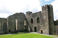 Castillo de Caerphilly imágenes de archivo libres de regalías