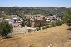 Castillo de Canena fotografía de archivo