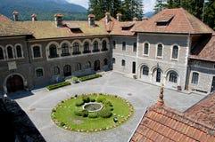 Castillo de Cantacuzino Foto de archivo
