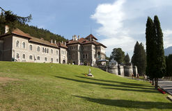 Castillo de Cantacuzino Imagenes de archivo