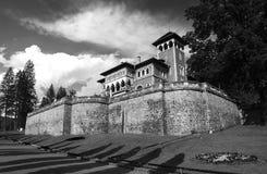 Castillo de Cantacuzino Fotografía de archivo libre de regalías