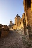 Castillo de Carcasona Fotos de archivo