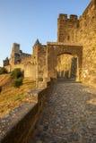 Castillo de Carcasona Fotos de archivo libres de regalías