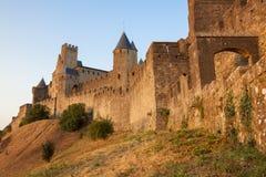 Castillo de Carcasona Fotografía de archivo