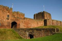 Castillo de Carlisle Imágenes de archivo libres de regalías