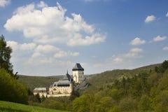 Castillo de Carlstein, República Checa fotos de archivo libres de regalías